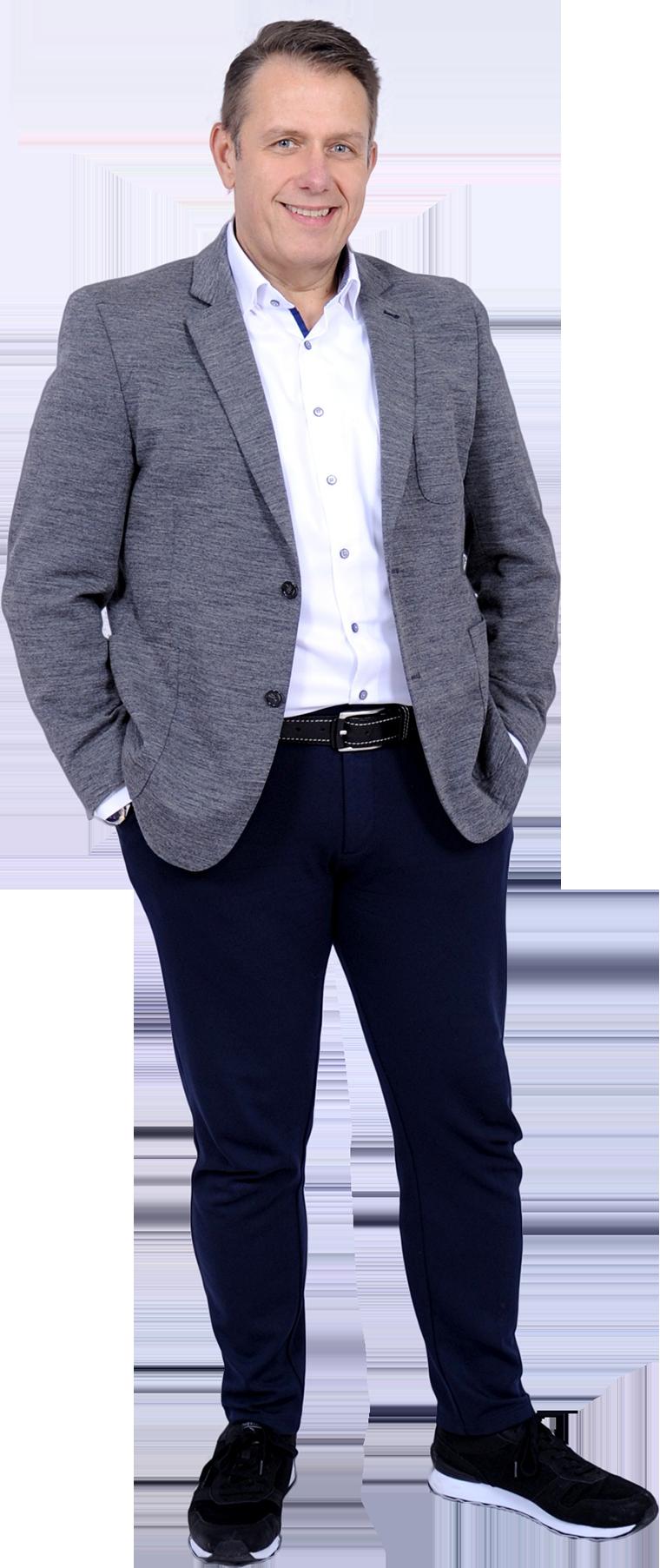 Frank Mistele, Finanzexperte in Balingen